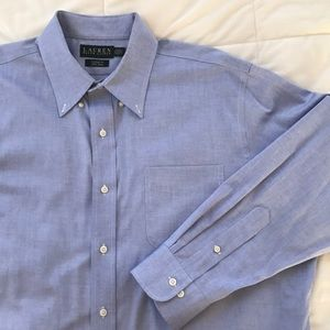 Lauren Ralph Lauren Classic Fit Cotton Dress Shirt